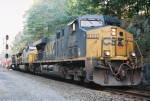 Q161 - CSX 5226 hits the north turnout