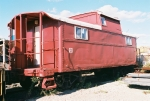 PRR Caboose, converted to yard office, former New York Dock.
