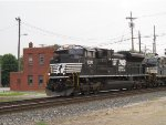 NS 1030 passing Wheeling tower