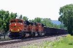 A Trio of EMD's Head West with Empty Taconite Cars