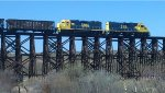 SMA 16 & SMA 18 on trestle over Tucson Wash