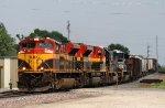 KCS 4031 Thunders Along