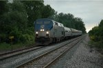 Amtrak Train #352 Approaches Dearborn