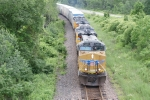 UP 5433, 7513, 7844 - detoured UP ZDLSK / CSX L090
