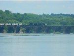 NS 65R Over the Rockville Bridge
