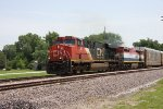 CN 2235 and BC Rail 4625