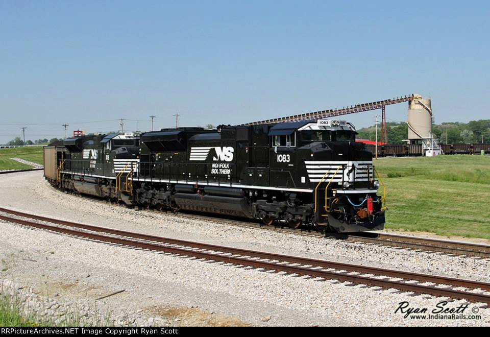 NS 1083 at Alliance Coal Loop