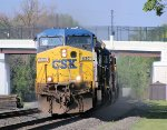 AC60CW 630 leads westbound Q393 into the sun