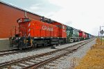 Old Cp Switcher at its new home in East Saint Louis IL.