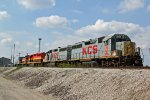 Line of Kcs unit's Waite for work.