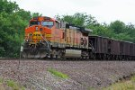 BNSF 4805 Works dpu today.