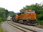 BNSF 7288 and NJT 3502