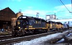 CSX 4562 leads light power move