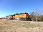BNSF 4630 leads a trio of -9's