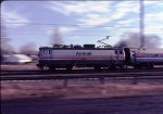 Amtrak 917 North, panned