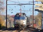 Amtrak 927 shoving eastbound