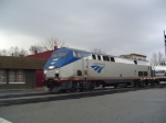 Amtrak Regional Arriving