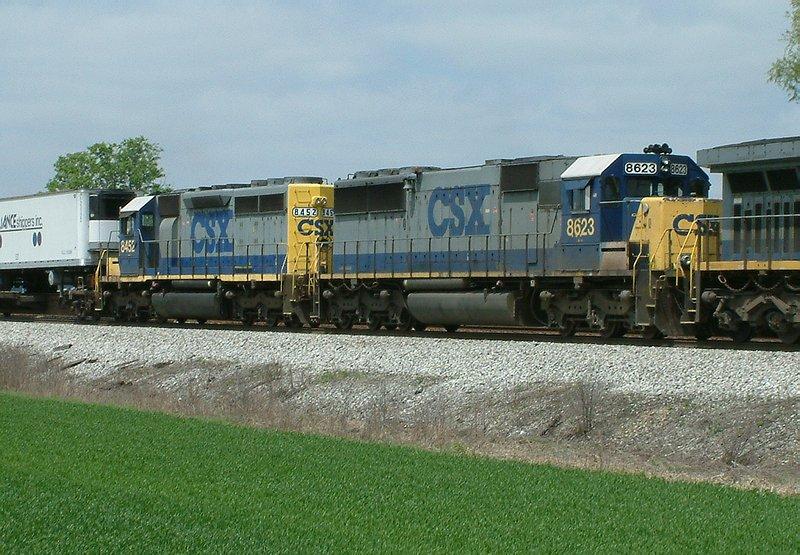 SD50/SD40-2 combo