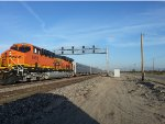 BNSF Employee Special heading to Cajon Pass