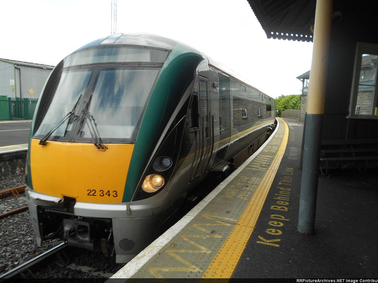 Irish Rail (Iarnród Éireann) Dublin-Sligo InterCity Service