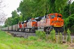 BNSF 9269 Leans into the curve!