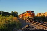 BNSF 6826 Speeds into Old Monroe.