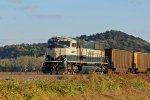 BNSF 9676 Dpu on a loaded coal train.
