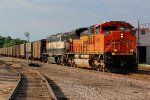 BNSF 9288 Rolls a Sb coal train into Old Monroe Mo.