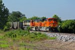 BNSF 9113 New Ace leading a empty coal train!