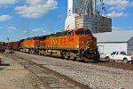 BNSF 5405 Leads a Sb empty coal train!