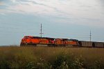 BNSF 5862 Waits for a Sb coal load!