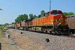 BNSF 4473 Heads up a Nb grain train!