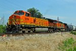 BNSF 5096 Dash9 Kinda day!!