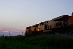 The Valley girl NS 8104 on the BNSF!!!