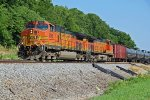 BNSF 5006 Waits for a EB empty coal train!