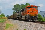 BNSF 9155 Emd lashup on a Sb coal load.