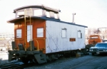 PW 3 wood caboose