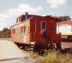 PW 3001 steel caboose