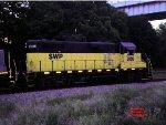 Southwest Pennsylvania RR GP11 #2006 one the nightly run through Lawrenceville.