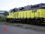 Southwest Pennsylvania RR GP11 #2006 backing down the branch to the Strip District..