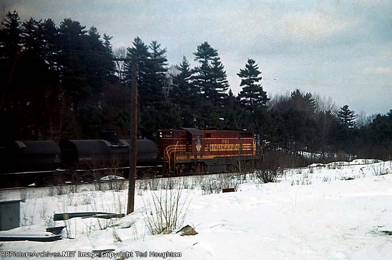 B&M local at Whitefield, NH.