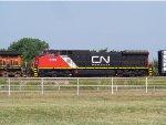 CN C40-8W 2179