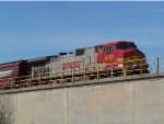 BNSF C44-9W 4717