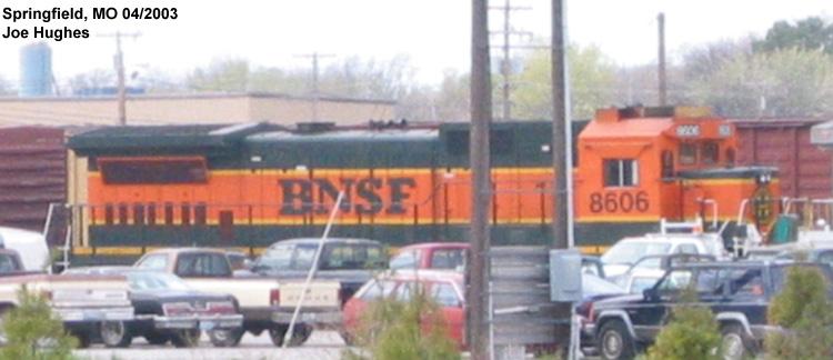 BNSF 8606