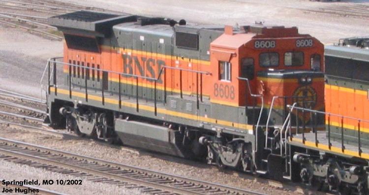 BNSF 8608