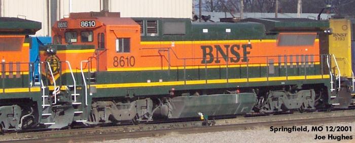 BNSF 8610