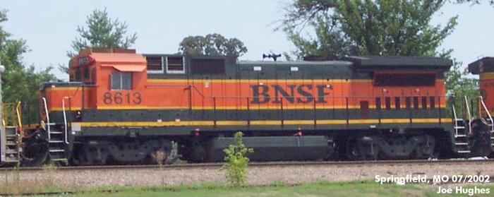 BNSF 8613