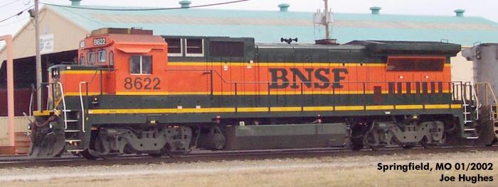 BNSF 8622