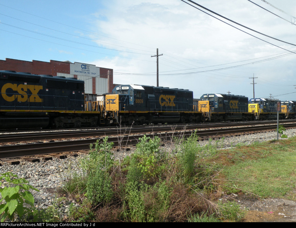 SD40-2s as far the eye can see