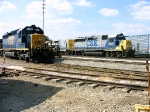 CSX 8160 and CSX 6907 resting at Union City